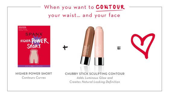 SPANX + Clinique Beauty Besties Power Pair- Higher Power Short