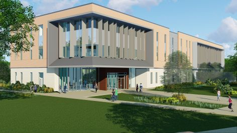 PHOTO -UHCL Pearland Campus Health Sciences building