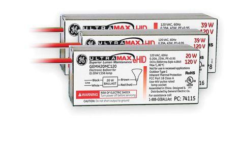 GE UltraMax® micro eHID ballasts