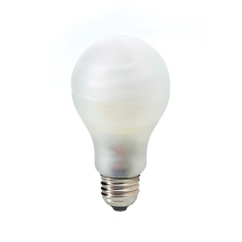 Exclusive, new covered GE Energy Smart® CFL bulb.