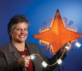Kathy Presciano, GE Lighting Specialist and designer of the National Christmas Tree