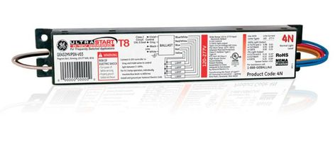 UltraStart® T8 0-10V Programmed Start Dimming Electronic Ballasts