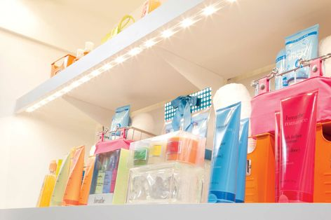 Tetra® AL10 LED System can be used in a variety of retail and architectural applications, including under shelf, cove, accent and task lighting