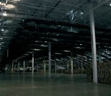 One of Limited Brands distribution centers before a comprehensive lighting retrofit.