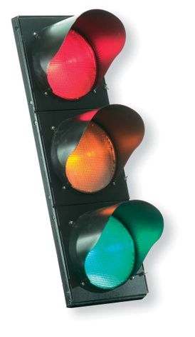 Incandescent-look GT1™ full ball LED traffic signal