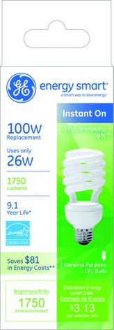 energy smart® CFL: Fresh, energizing light™