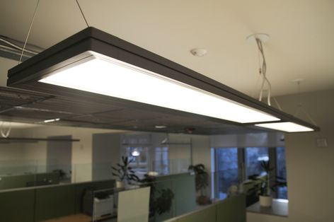 GE's Lumination™ Suspended LED Luminaires