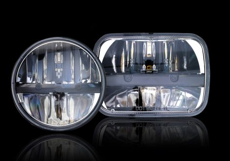 GE's NIGHTHAWK™ LED headlights
