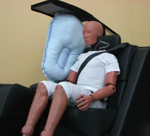 World's First Rear-seat Centre Airbag