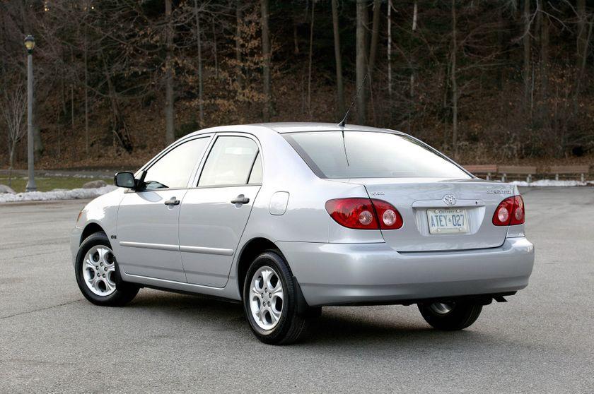 2008 Toyota Corolla LE 10