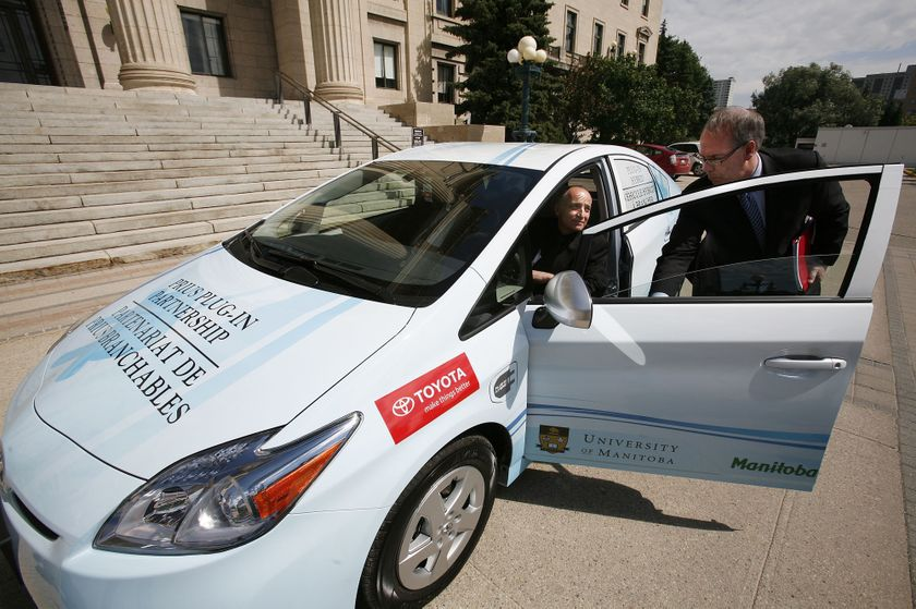 3 Toyota Prius Plug-in Hybrid in Winnipeg 8