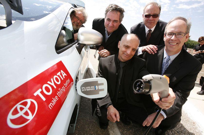 3 Toyota Prius Plug-in Hybrid in Winnipeg 6