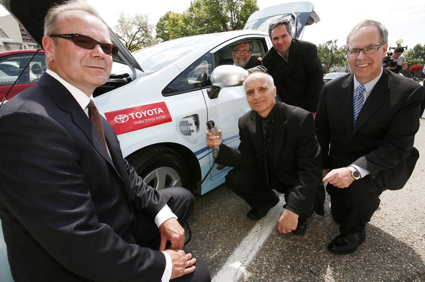 3 Toyota Prius Plug-in Hybrid in Winnipeg 5