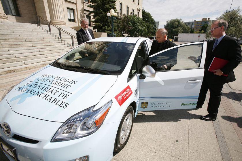 3 Toyota Prius Plug-in Hybrid in Winnipeg 4