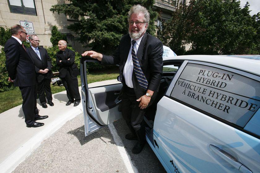 3 Toyota Prius Plug-in Hybrid in Winnipeg 1