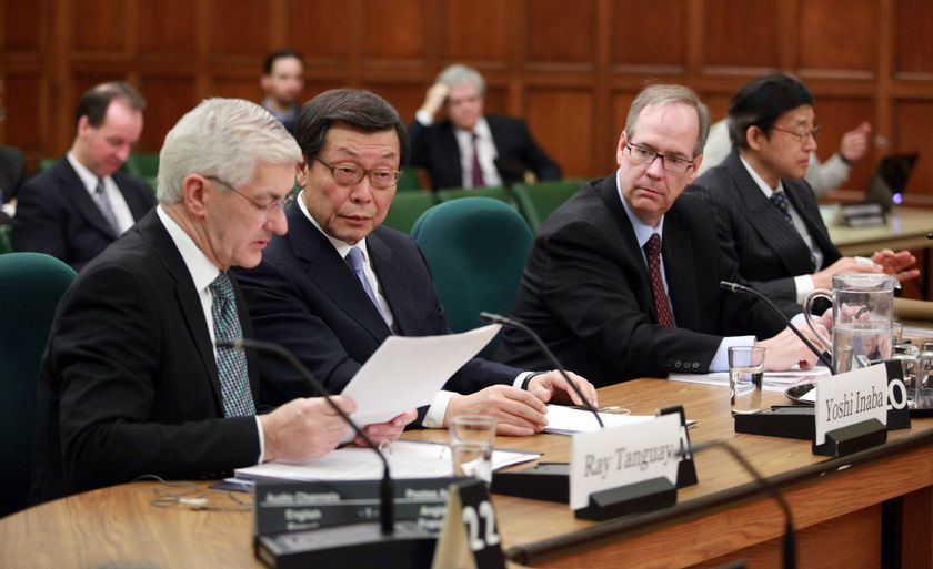 Toyota Executives appear before House of Commons Standing Commitee 5