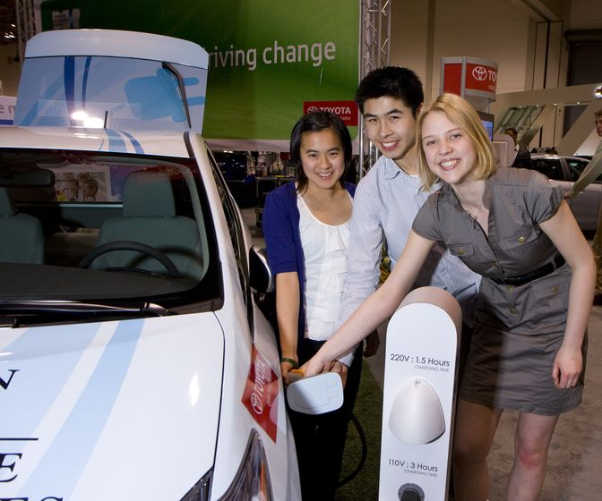 2010 Toyota Earth Day Scholarship Awards (Green Living Show, Toronto - April 23, 2010) 1