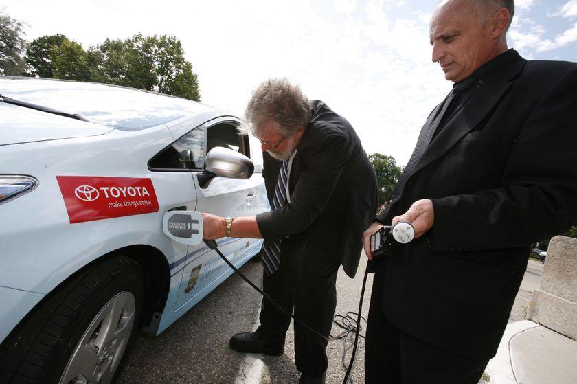 Toyota Prius Plug-in Hybrid in Winnipeg