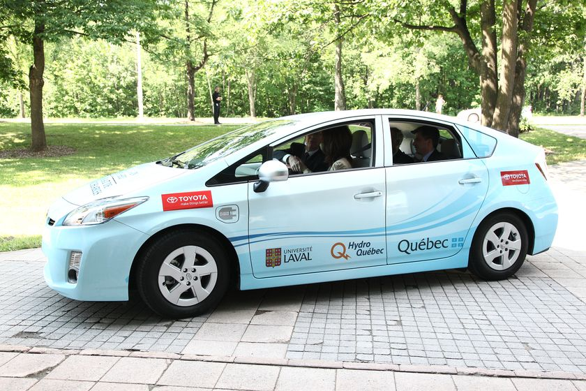 Prius PHV Delivery to QC Partners 2
