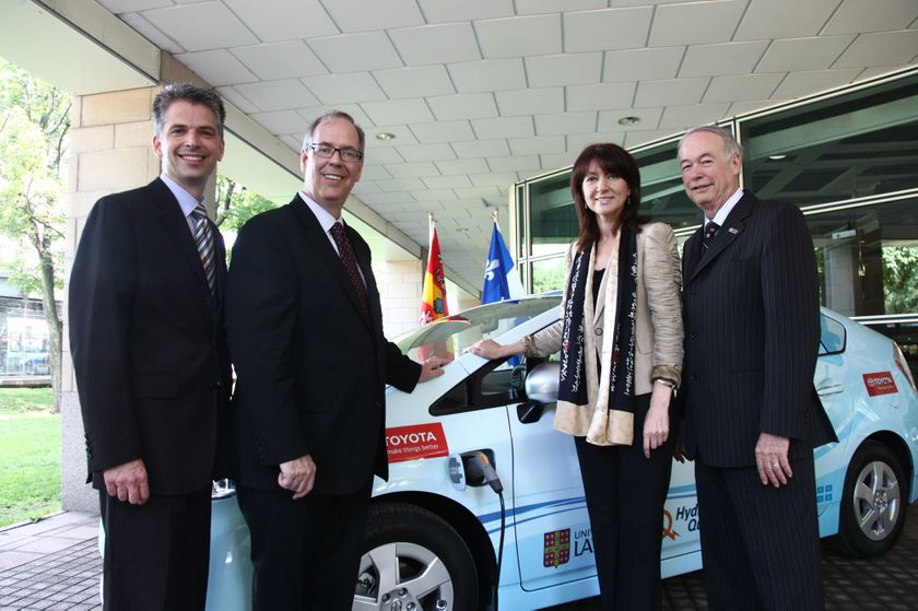 Prius PHV Delivery to QC Partners 1
