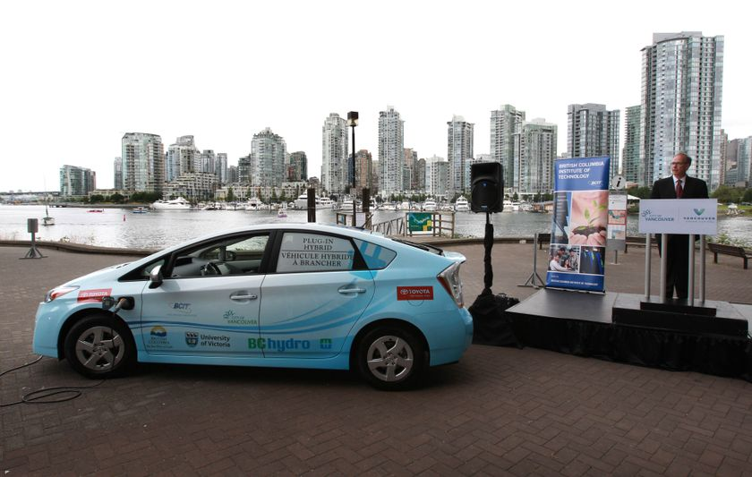 1 Prius Plug-in Hybrid Delivery to B.C. partners 3