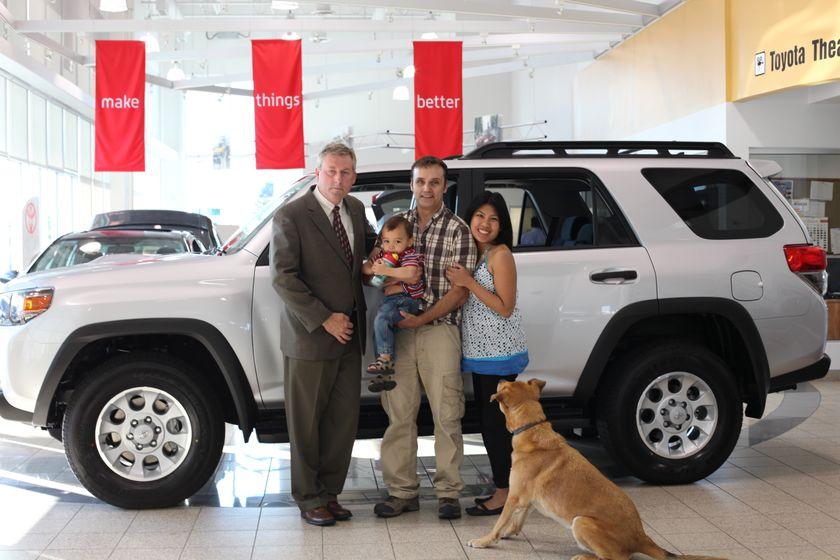 Toyota 4Runner Grand Prize Winner   John Banovich BC