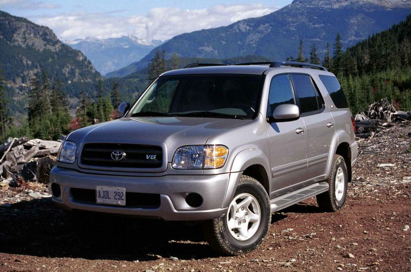 2003 model year Sequoia 2