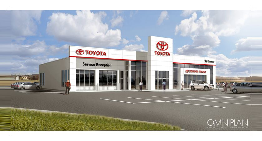 Tri-Town Toyota Dealership
