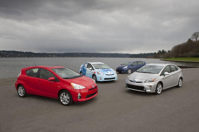 Toyota Prius family - 1