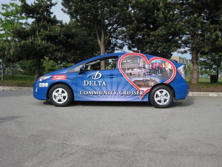 la Tournée du véhicule communautaire Delta - 2010 Prius 1