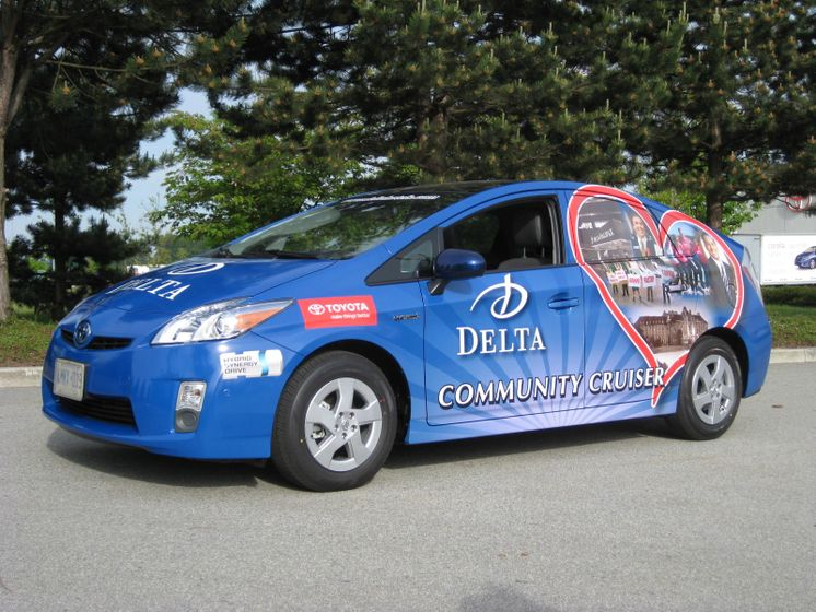 la Tournée du véhicule communautaire Delta - 2010 Prius 2