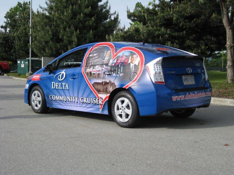 la Tournée du véhicule communautaire Delta - 2010 Prius 3