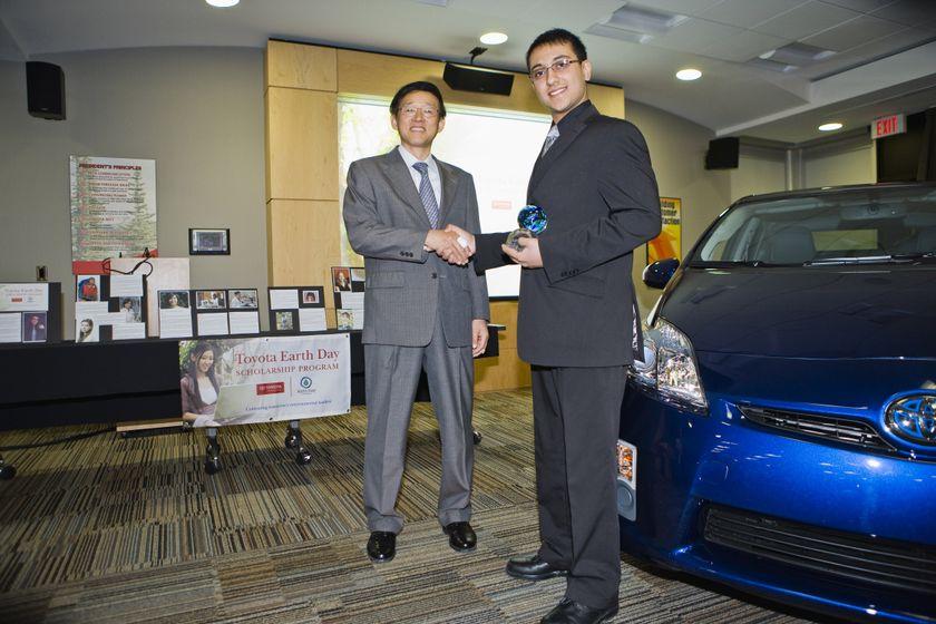 Programme de bourses d'études Toyota-Jour de la Terre 2009 03