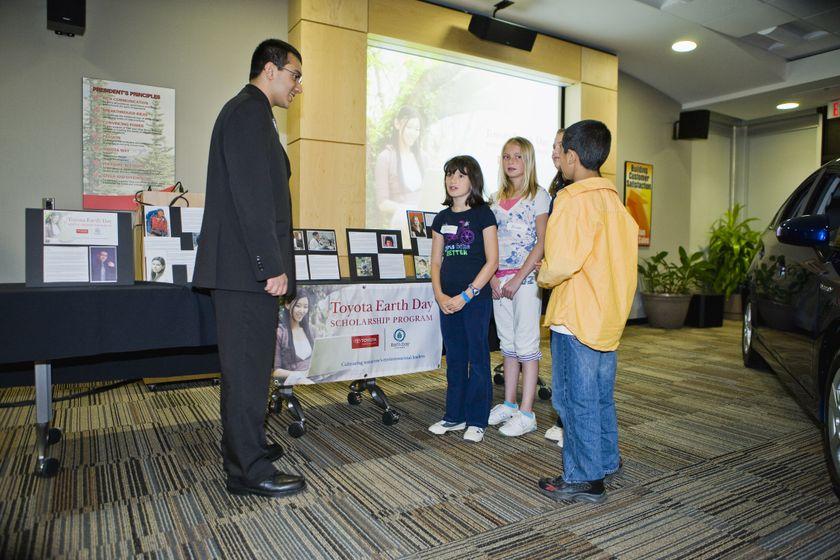 Programme de bourses d'études Toyota-Jour de la Terre 2009 11