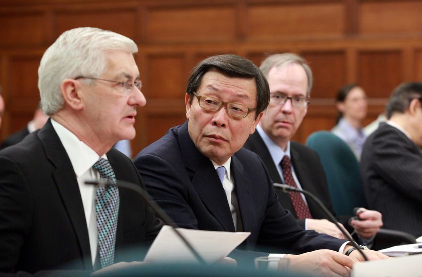Toyota Executives appear before House of Commons Standing Commitee 7