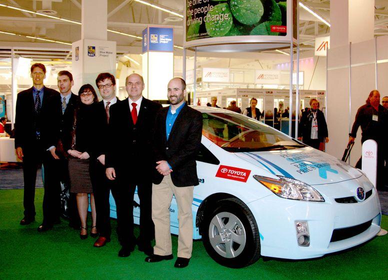 2010 Toyota Prius PHV Partnership 3