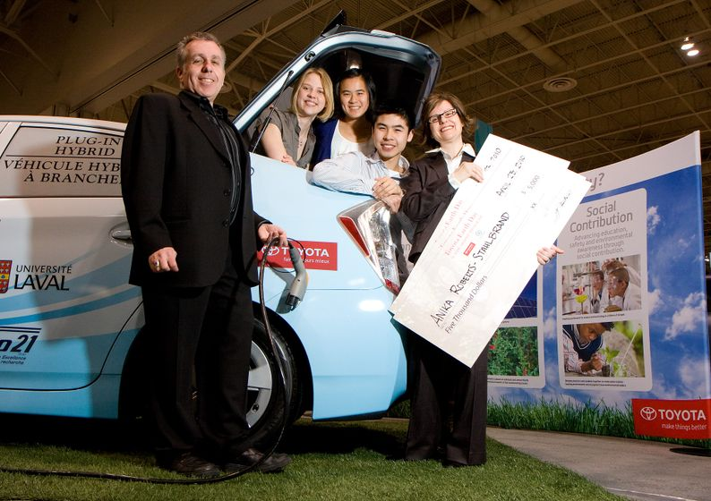 2010 Toyota Earth Day Scholarship Awards (Green Living Show, Toronto - April 23, 2010) 3