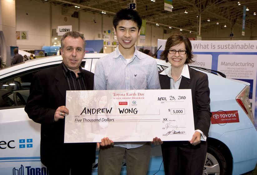 2010 Toyota Earth Day Scholarship Awards (Green Living Show, Toronto - April 23, 2010) 8