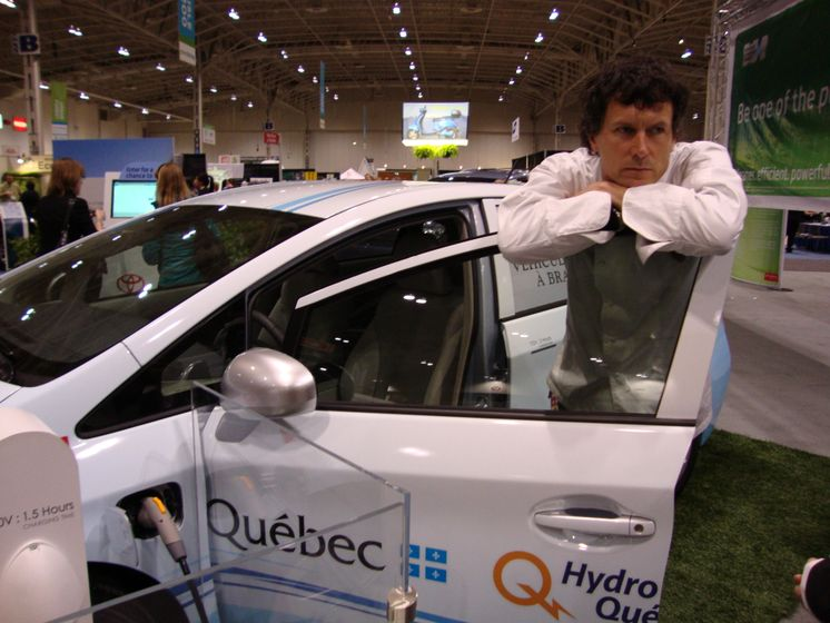 Chef Jamie Kennedy and the Prius Plug-in Hybrid
