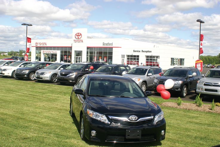 Stratford Toyota Dealership