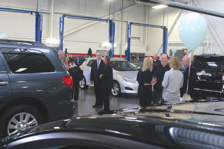 Opening of Stratford Toyota