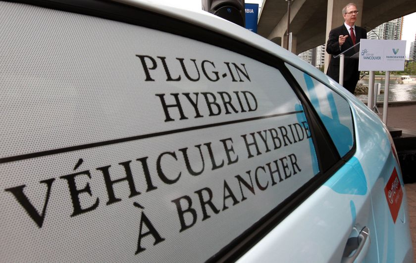 1 Prius Plug-in Hybrid Delivery to B.C. partners 4
