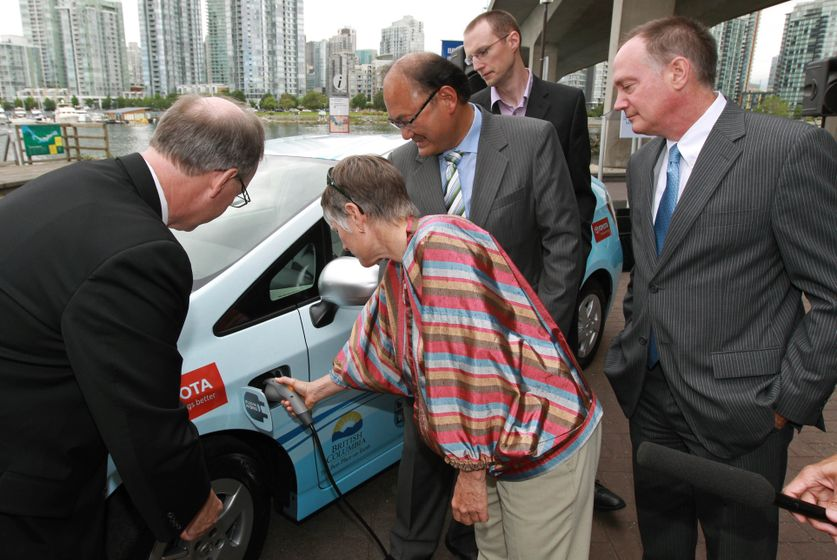 1 Prius Plug-in Hybrid Delivery to B.C. partners 1