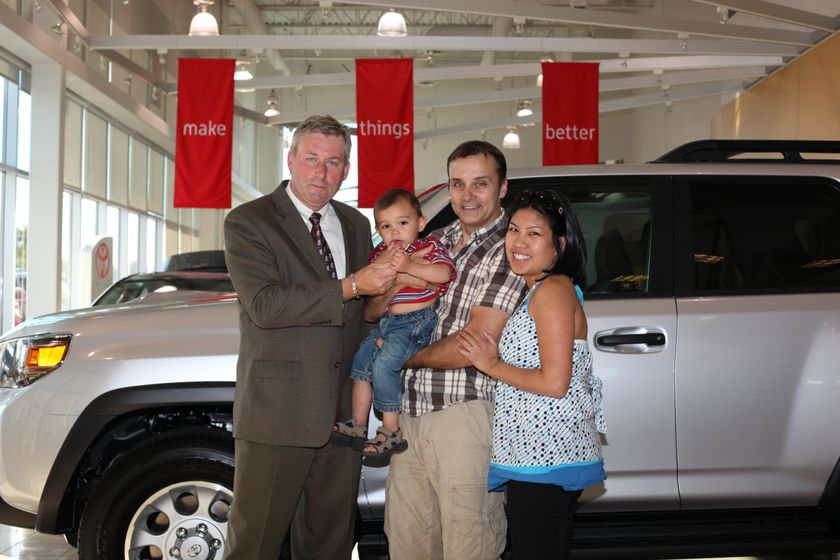 Toyota 4Runner Grand Prize Winner John Banovich