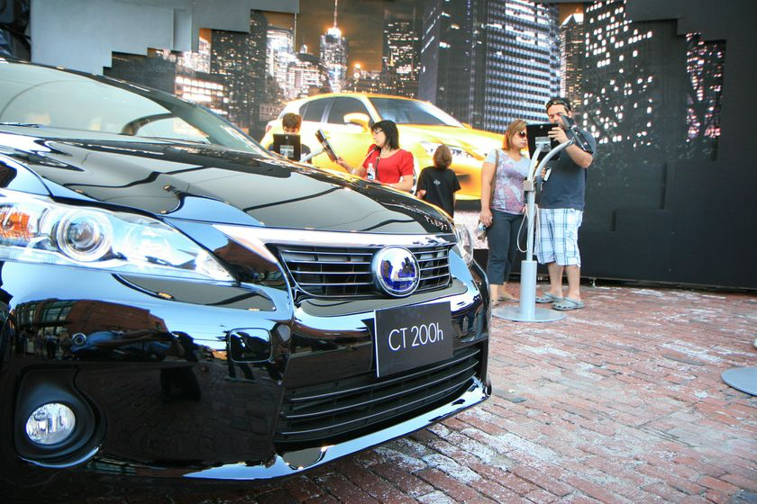 Lexus Live at the Distillery - CT 200h Tour 10