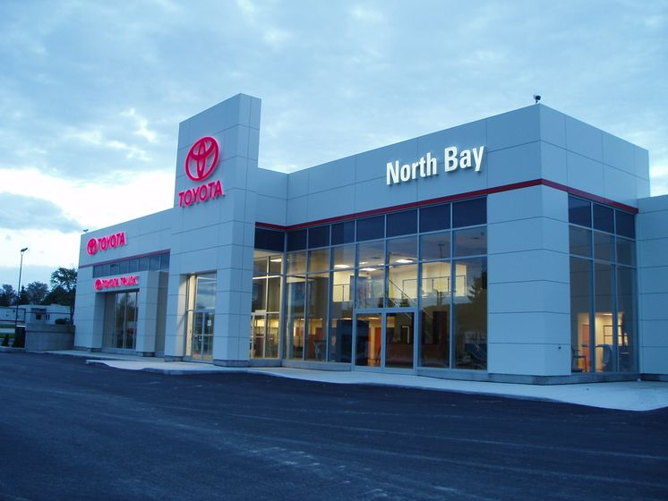 Toyota North Bay >> North Bay Toyota Opens New Dealership Facility Toyota Canada