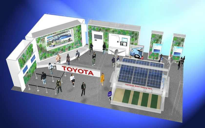 Image of Toyota booth