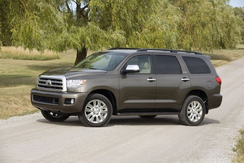 the 2012 toyota sequoia additional safety features on most popular models of the go anywhere. Black Bedroom Furniture Sets. Home Design Ideas