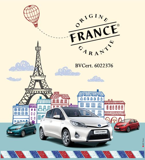 TMMF - Yaris labellis e Origine France