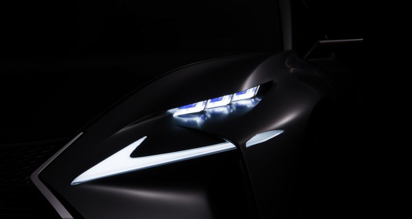 Lexus teaser IAA